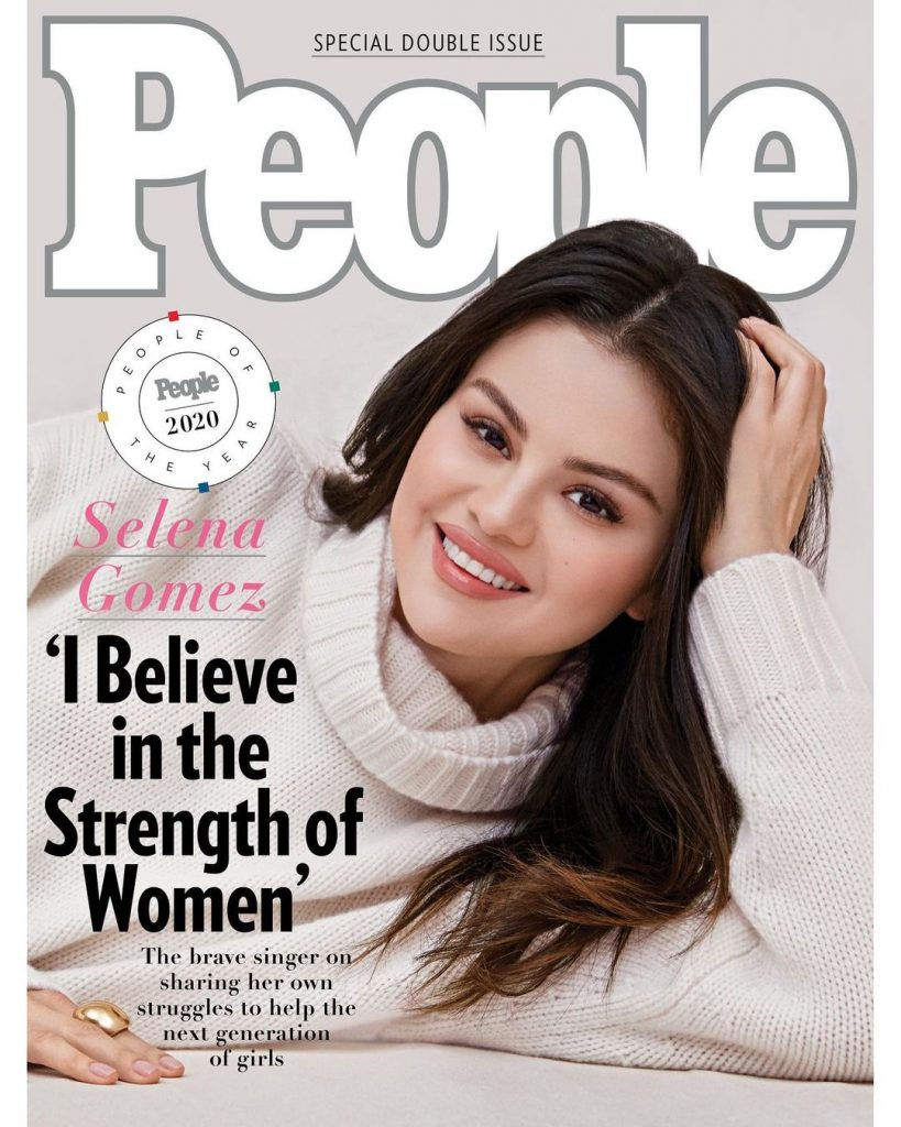 Selena Gomez Is Titled The Person of the Year by People Magazine | Brain Berries