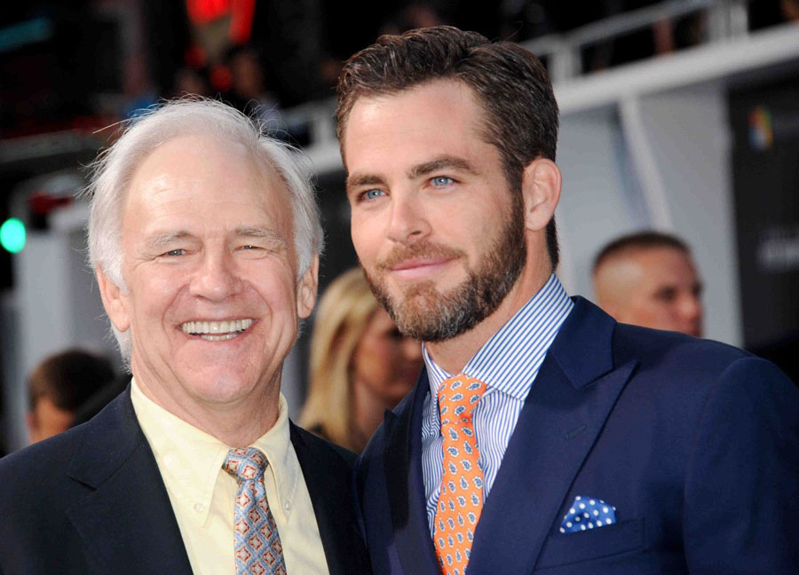 Chris Pine | 11 Celeb Children Who Grew Up To Be More Famous Than Their Parents | Zestradar