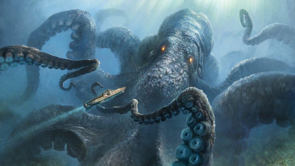 Kraken | 7 Creepiest Creatures from Scandinavian Legends | Zestradar