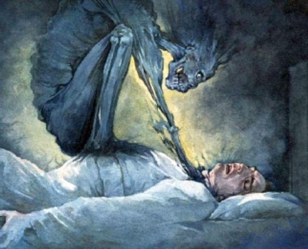 Mare | 7 Creepiest Creatures from Scandinavian Legends | Zestradar