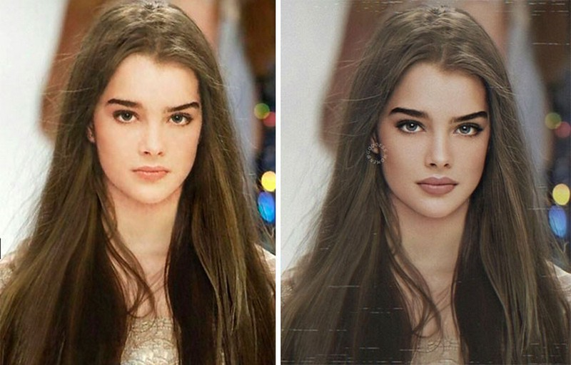 Brooke Shields | Goddess.Women Retouches Celebs and Makes Them Look Like Influencers | Zestradar
