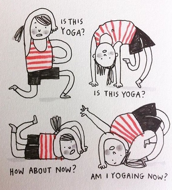 #9 | 17 Hilarious Yoga Memes That Will Clear Your Chakras | Zestradar