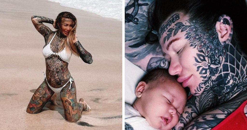 #1 | C татуировками или без: британская модель провела эксперимент | Zestradar