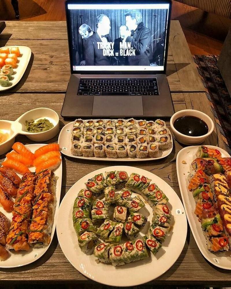 Sushi | The Rock's Best Cheat Meals | Zestradar