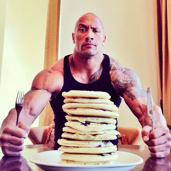 Pancakes | The Rock's Best Cheat Meals | Zestradar