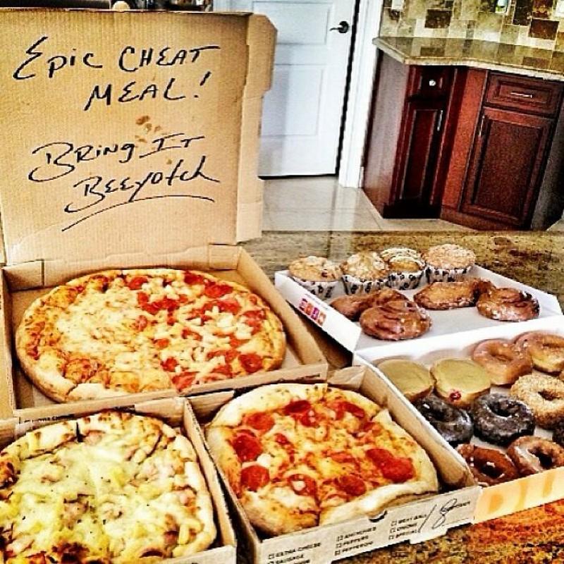 Pizza  | The Rock's Best Cheat Meals | Zestradar
