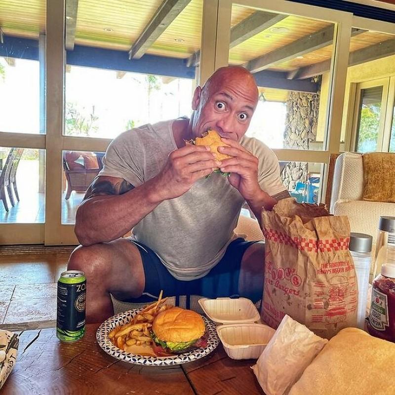 Burgers | The Rock's Best Cheat Meals | Zestradar