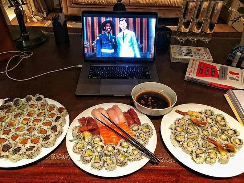 More Sushi | The Rock's Best Cheat Meals | Zestradar