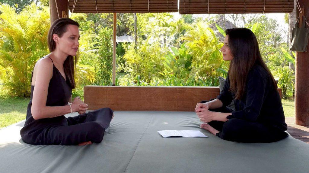 Angelina Jolie   9 Celebrities Who Practice Meditation to Stay Healthy   Zestradar