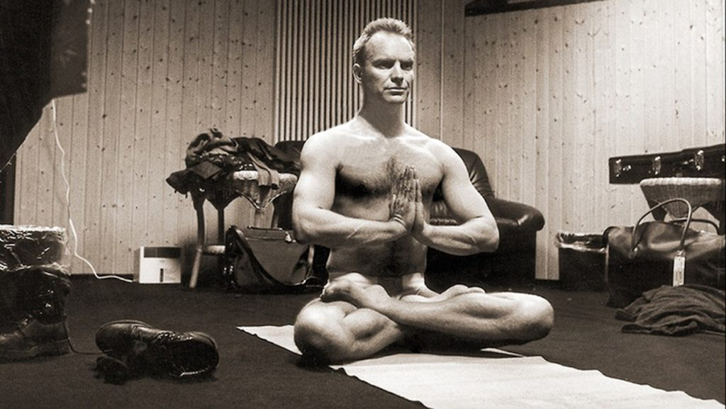 Sting  | 9 Celebrities Who Practice Meditation to Stay Healthy | Zestradar