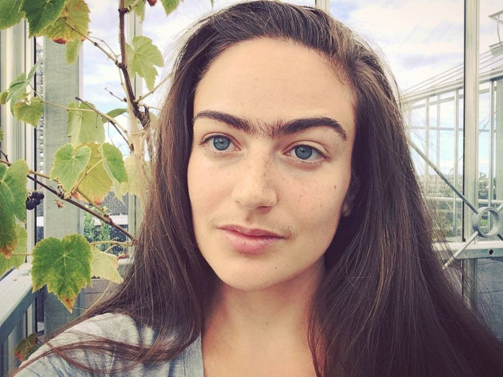 #3   This Woman Stopped Removing Facial Hair For A Year, Here's How it Changed Her Life   Zestradar