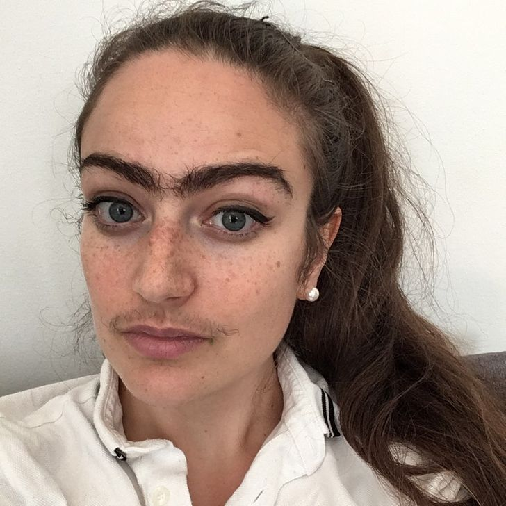 #4   This Woman Stopped Removing Facial Hair For A Year, Here's How it Changed Her Life   Zestradar