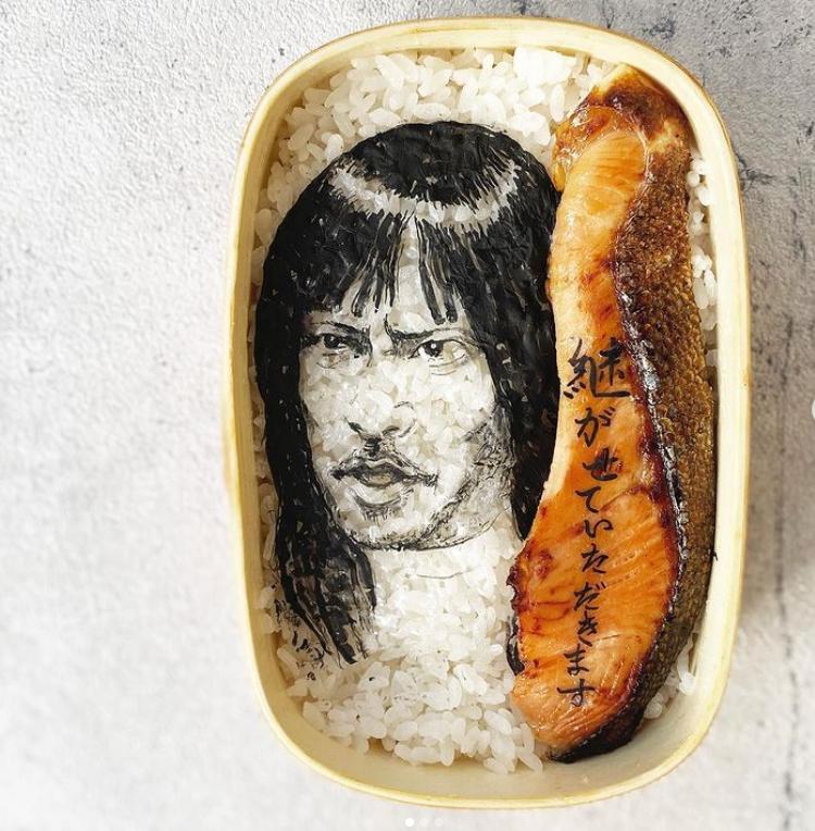 #1 | Японская фуд-художница создаёт необычные съедобные портреты | Zestradar