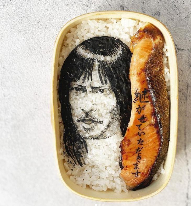 #11 | Японская фуд-художница создаёт необычные съедобные портреты | Zestradar