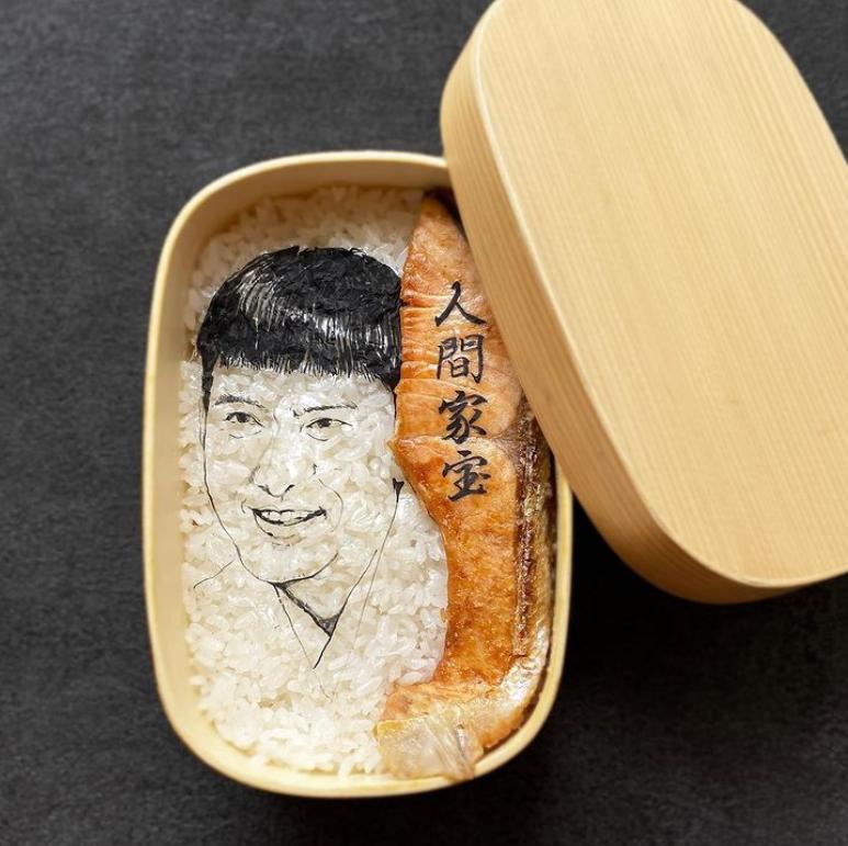 #14 | Японская фуд-художница создаёт необычные съедобные портреты | Zestradar