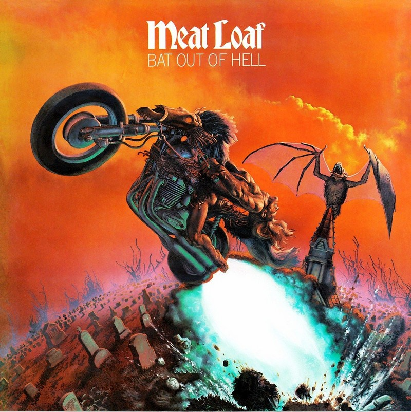 Meat Loaf- Ball Out Of Hell   The Best Selling Music Albums of All Time   Zestradar