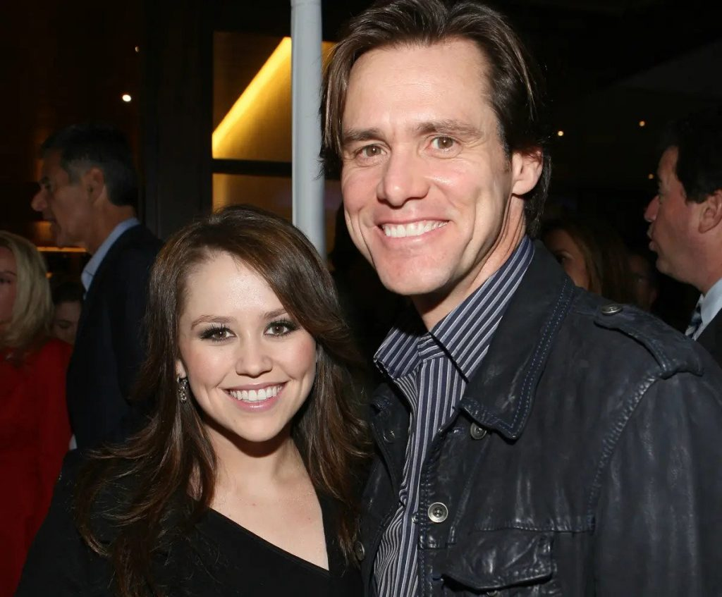 Jim Carrey and his daughter Jane | 9 Celebrity Kids That Look Exactly Like Their Parents | Zestradar