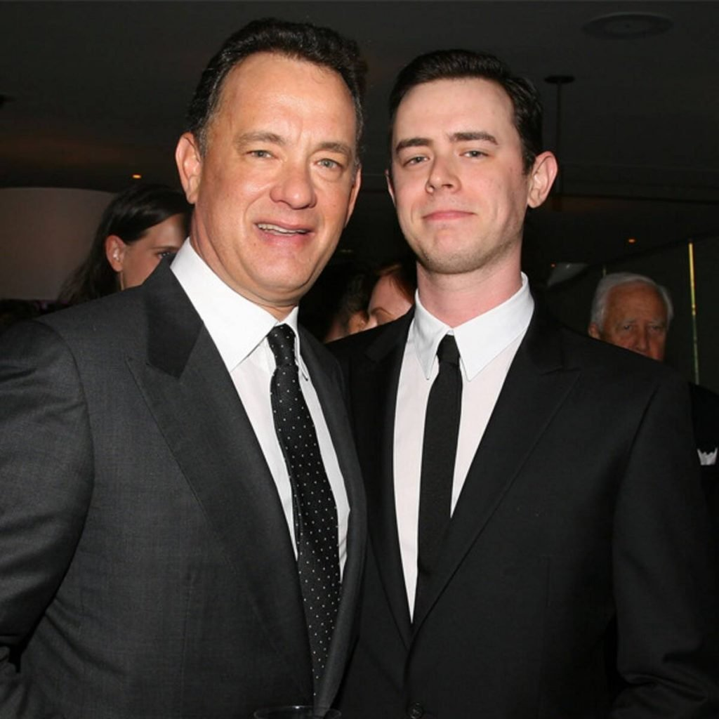 Tom Hanks and his son Colin | 9 Celebrity Kids That Look Exactly Like Their Parents | Zestradar