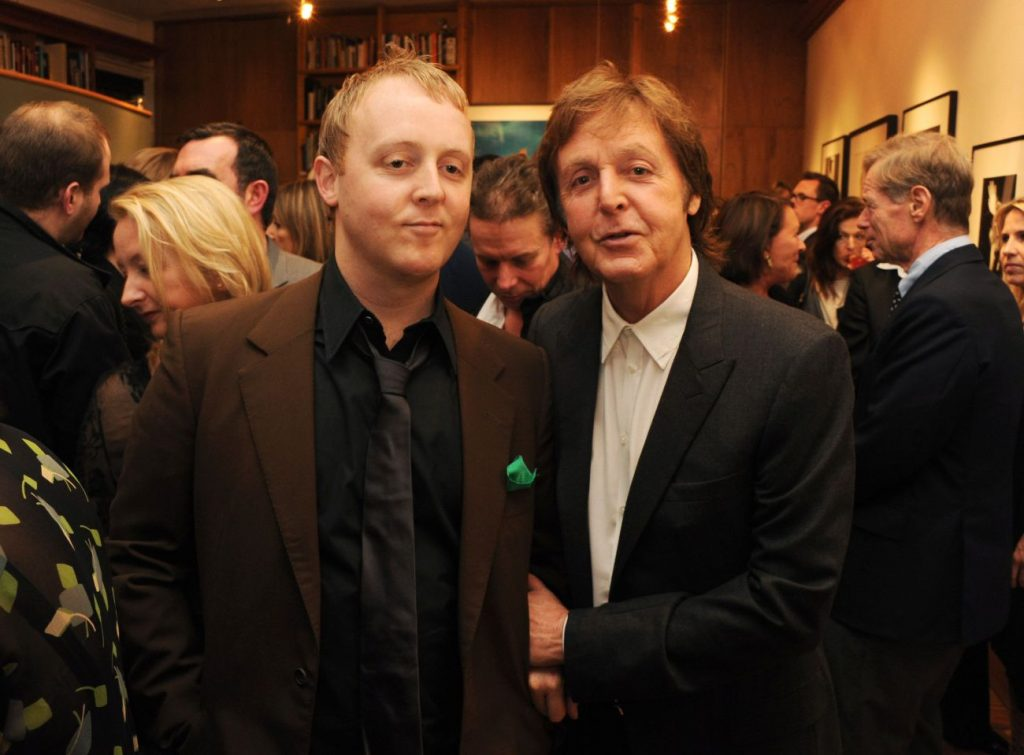 Paul McCartney and his son James | 9 Celebrity Kids That Look Exactly Like Their Parents | Zestradar