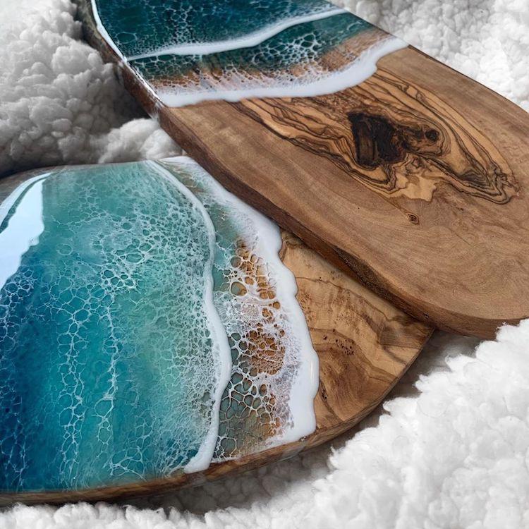 #10 | От разделочных досок до кухонных столов: мини-шедевры, вдохновленные океаном | Zestradar