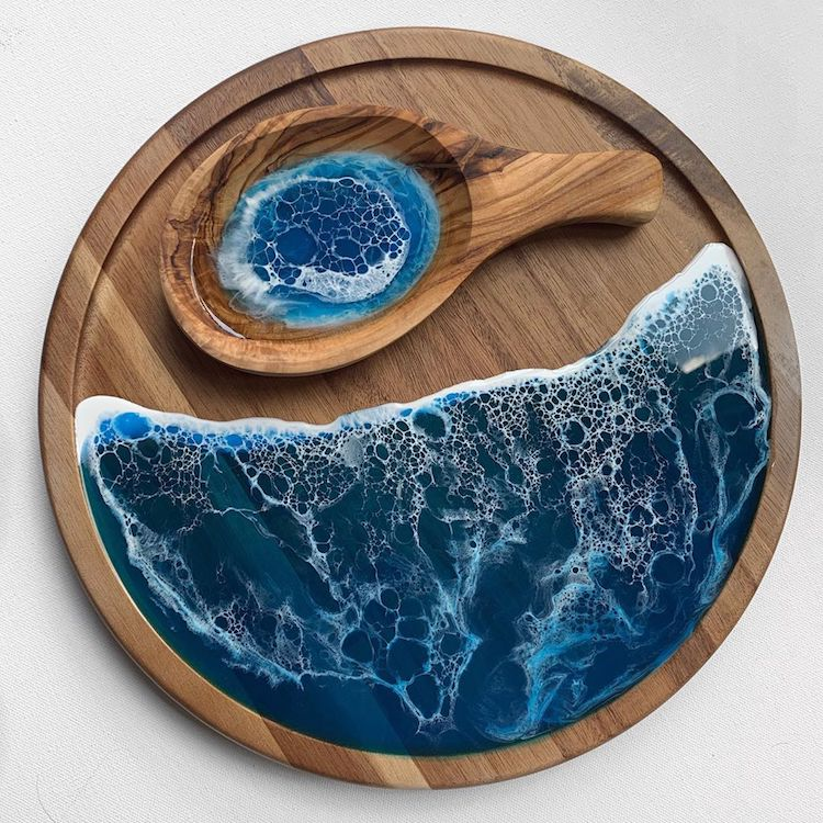 #11 | От разделочных досок до кухонных столов: мини-шедевры, вдохновленные океаном | Zestradar