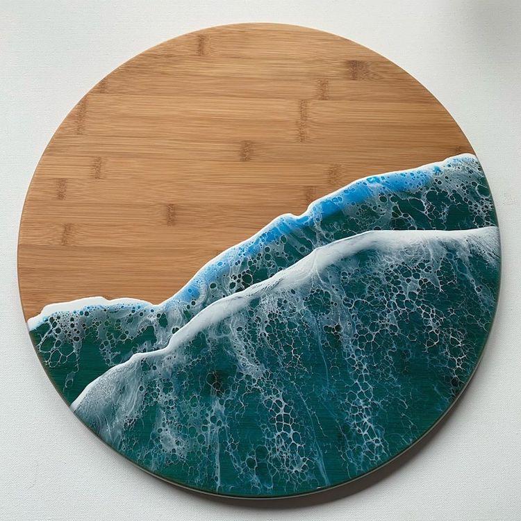 #13 | От разделочных досок до кухонных столов: мини-шедевры, вдохновленные океаном | Zestradar