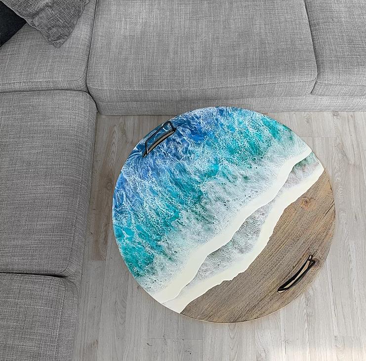 #5 | От разделочных досок до кухонных столов: мини-шедевры, вдохновленные океаном | Zestradar