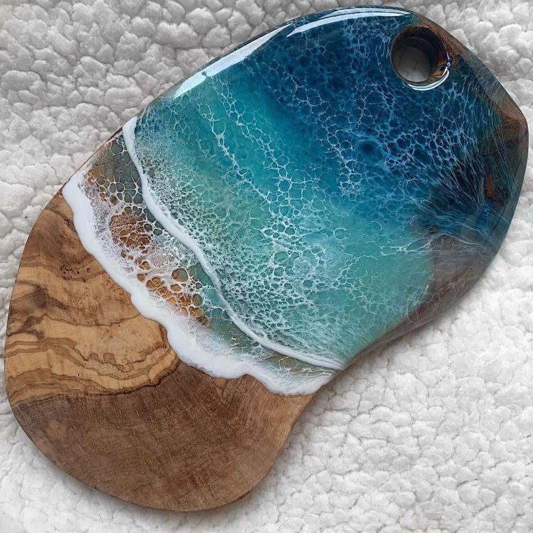#8 | От разделочных досок до кухонных столов: мини-шедевры, вдохновленные океаном | Zestradar