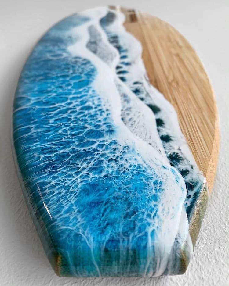 #9 | От разделочных досок до кухонных столов: мини-шедевры, вдохновленные океаном | Zestradar