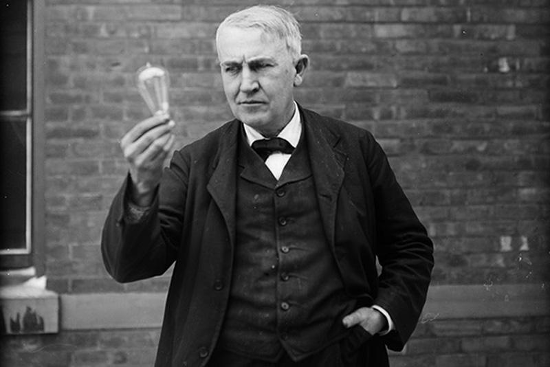 Томас Эдисон | 5 исторических личностей, чьи достижения сильно переоценены | Zestradar