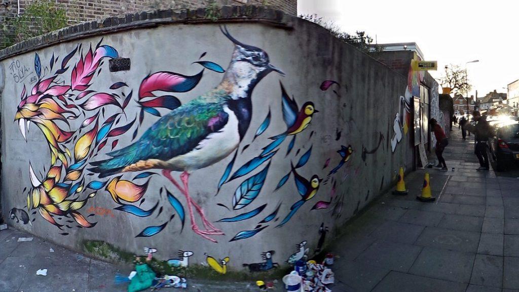 #2 | Fio Silva's Phenomenal Bird Murals | Zestradar