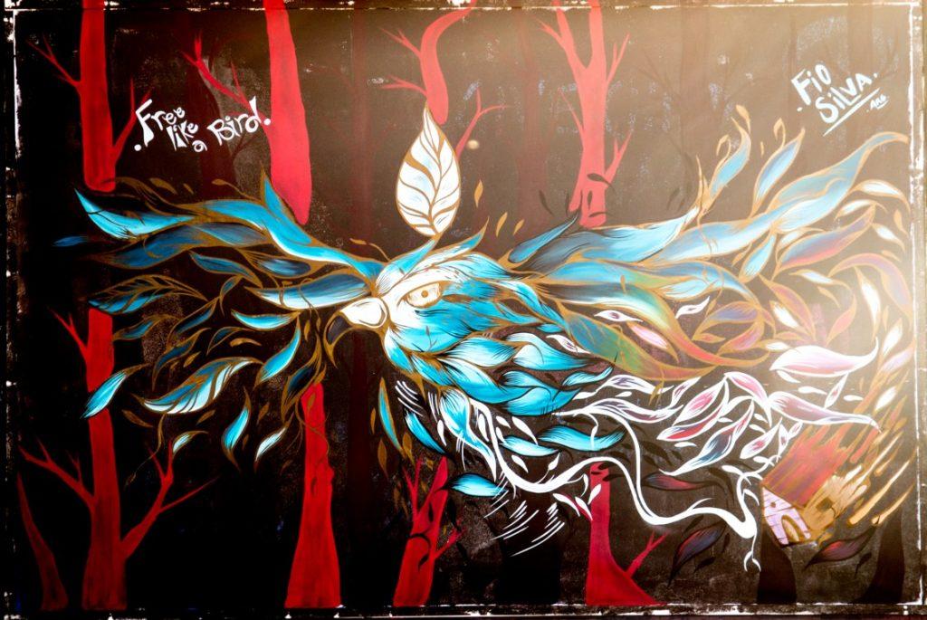 #3 | Fio Silva's Phenomenal Bird Murals | Zestradar