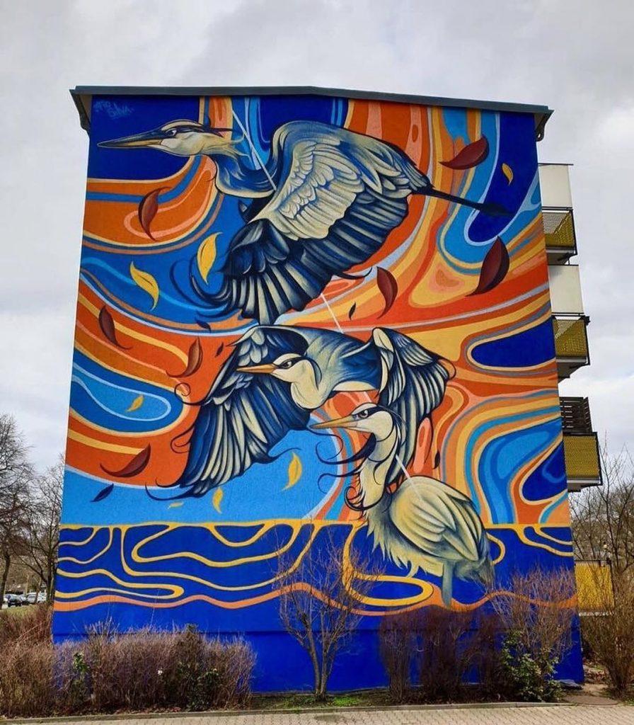 #4 | Fio Silva's Phenomenal Bird Murals | Zestradar