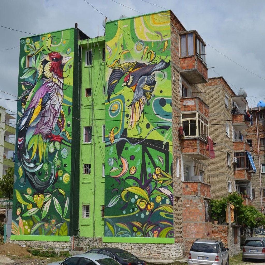 #7 | Fio Silva's Phenomenal Bird Murals | Zestradar