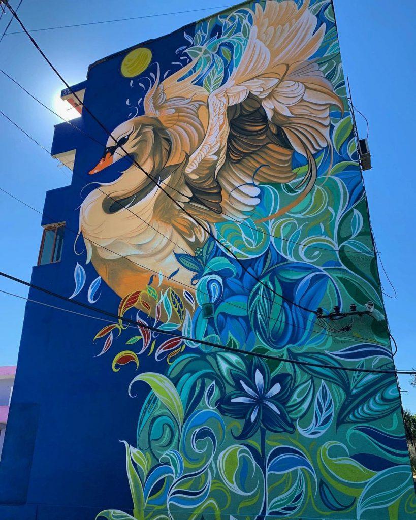 #8 | Fio Silva's Phenomenal Bird Murals | Zestradar