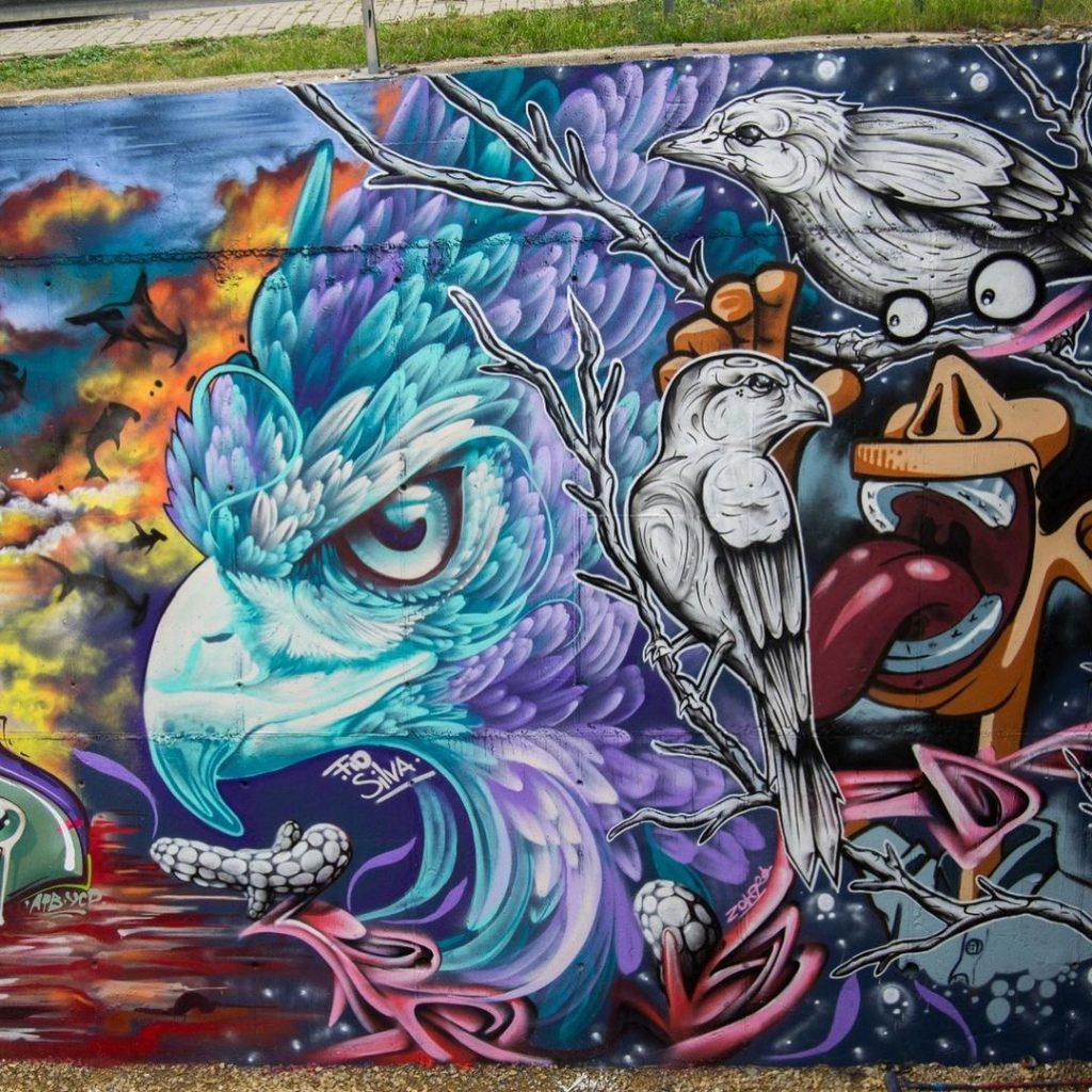 #9 | Fio Silva's Phenomenal Bird Murals | Zestradar