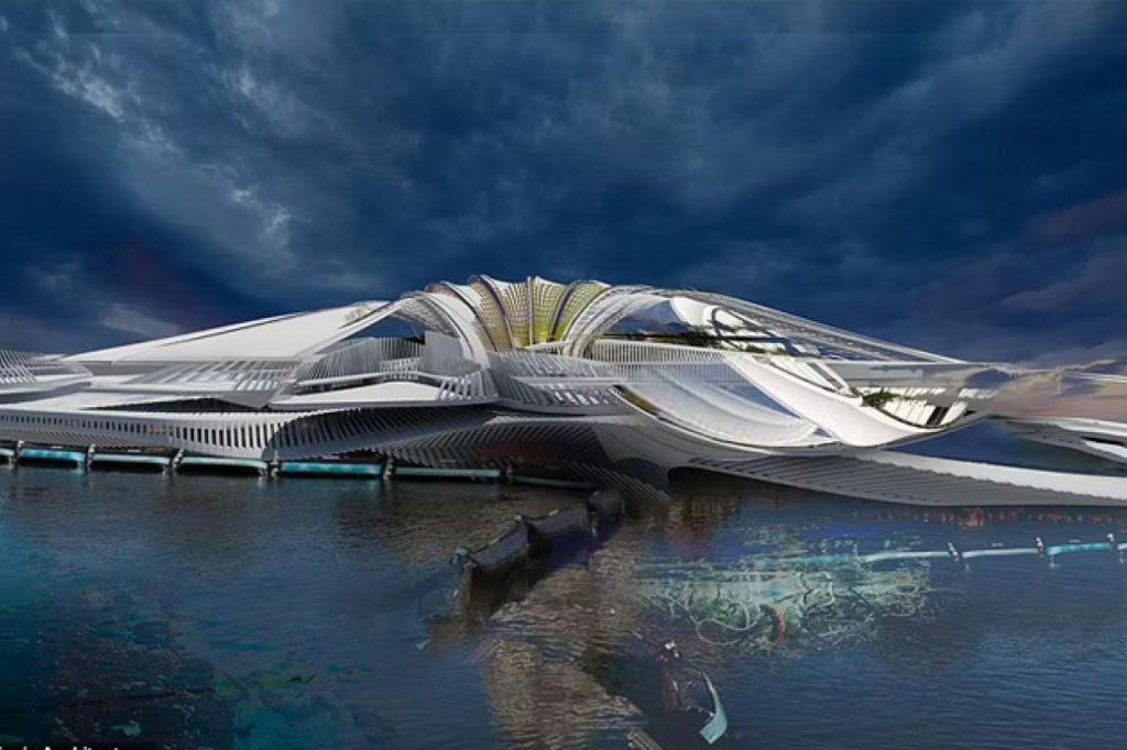 #5 | 5-Star Resort Made of Recycled Trash Floating in the Indian Ocean | Zestradar
