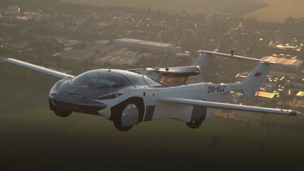 #1   Slovakia Made Sci-Fi Flying Cars A Reality With Air Car   Zestradar