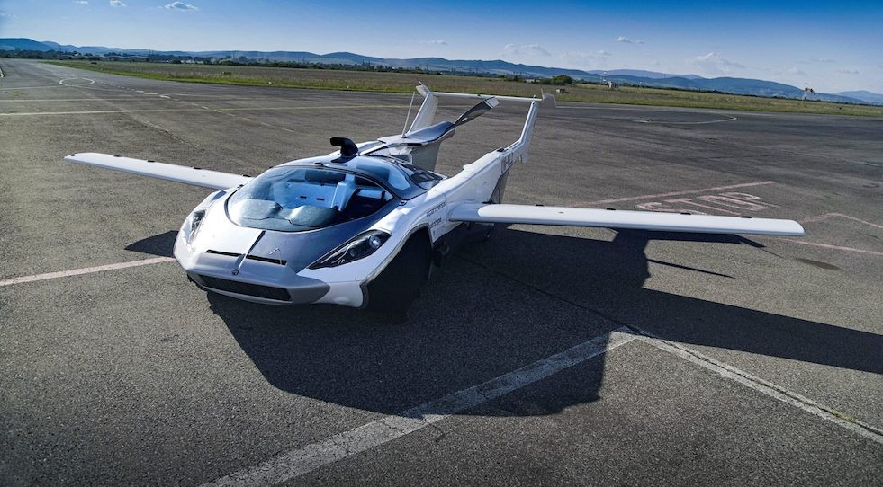 #3   Slovakia Made Sci-Fi Flying Cars A Reality With Air Car   Zestradar
