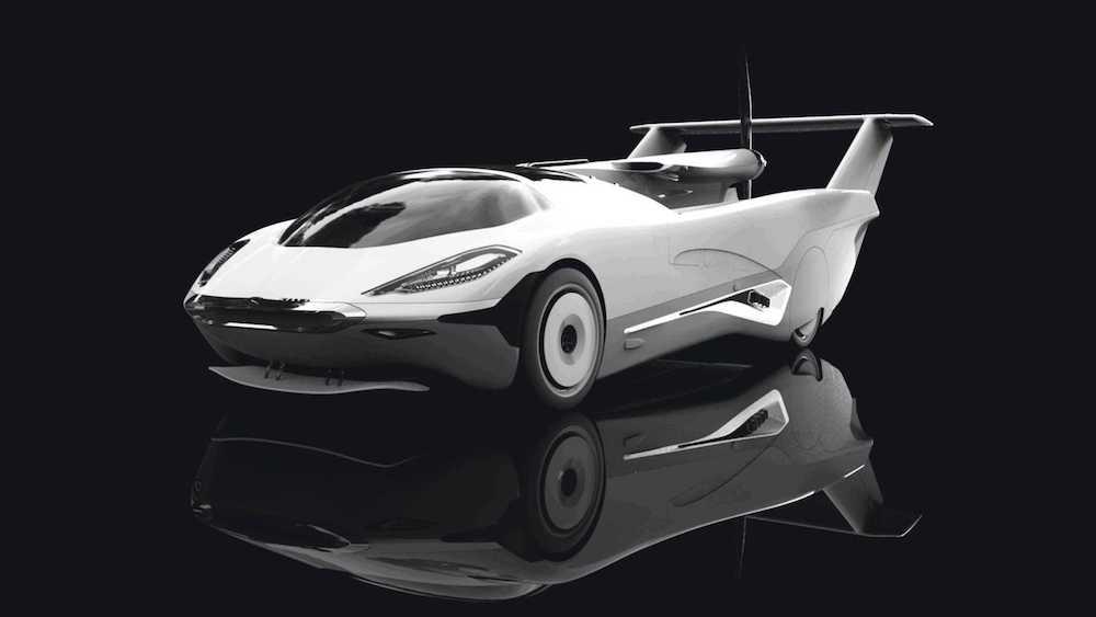 #4   Slovakia Made Sci-Fi Flying Cars A Reality With Air Car   Zestradar
