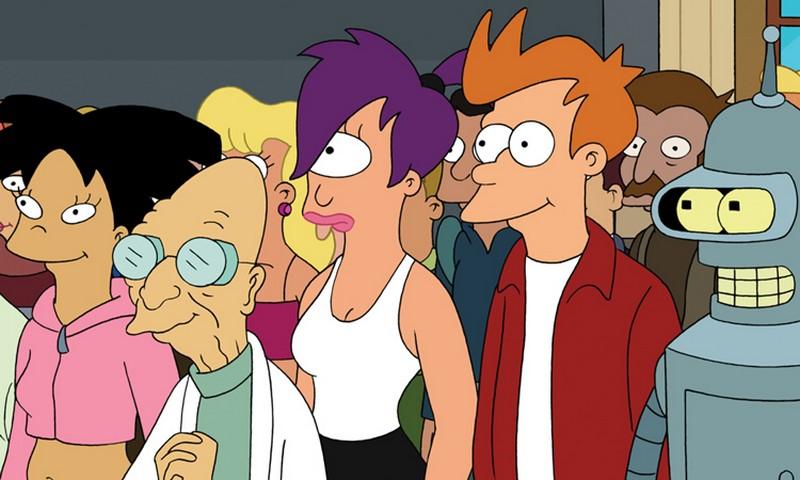 Futurama | 7 Funniest Cartoon Shows Ever | Zestradar