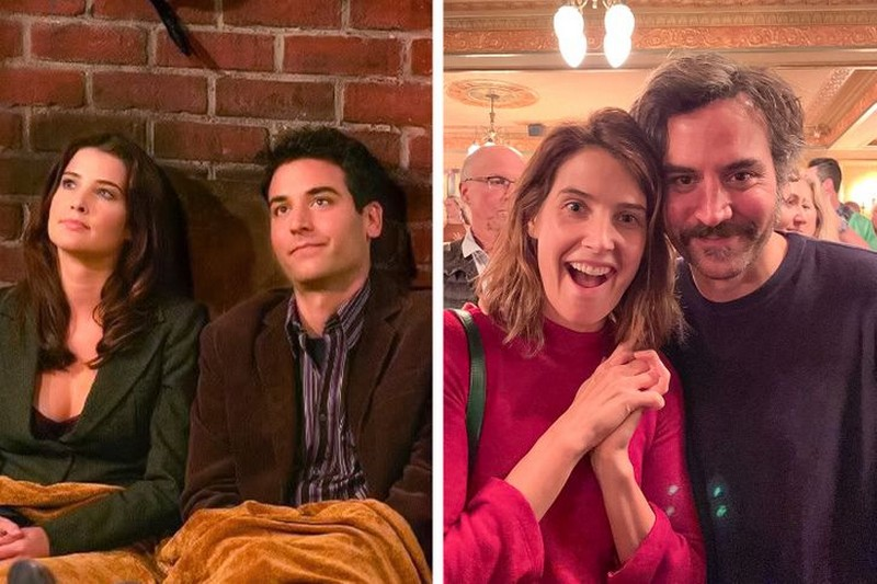 Ted and Robin from How I met Your Mother | Then And Now Photos Of Our Favorite Characters So You Can Feel Old | Zestradar