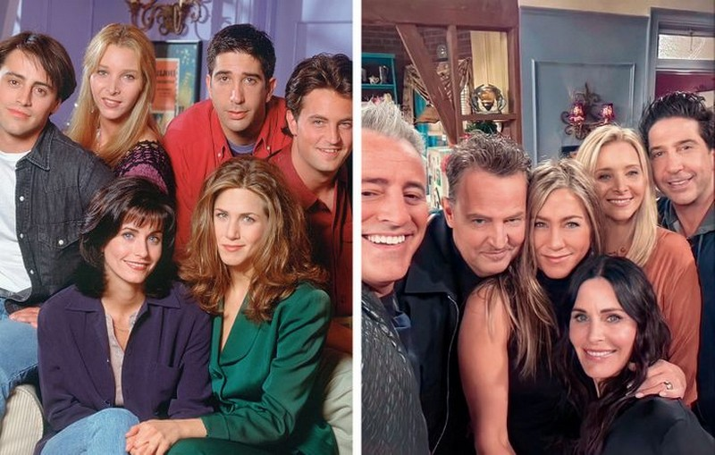 Friends | Then And Now Photos Of Our Favorite Characters So You Can Feel Old | Zestradar