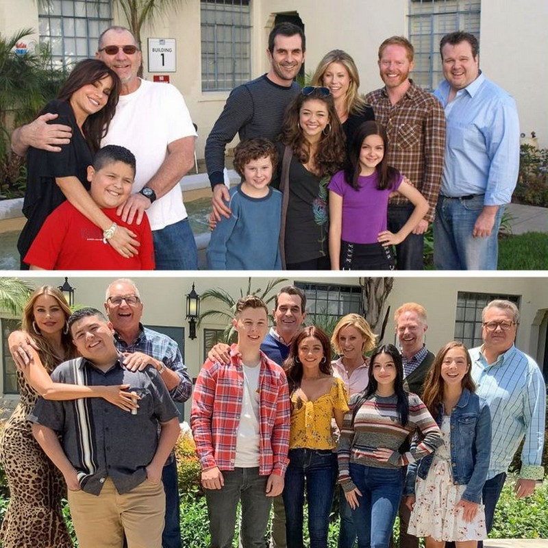 The Modern Family | Then And Now Photos Of Our Favorite Characters So You Can Feel Old | Zestradar
