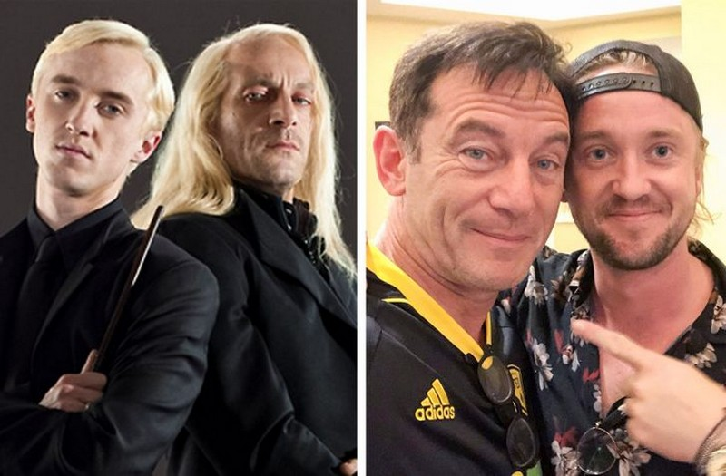 The Malfoy Family | Then And Now Photos Of Our Favorite Characters So You Can Feel Old | Zestradar