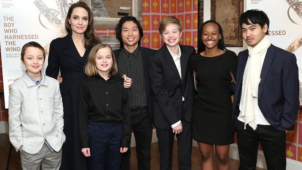 Angelina Jolie   Celebrities Who Adopted Children And Inspire The World   Zestradar