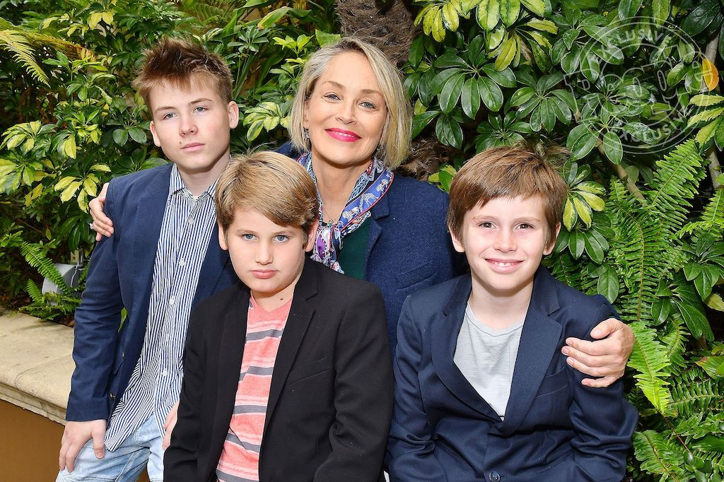 Sharon Stone   Celebrities Who Adopted Children And Inspire The World   Zestradar