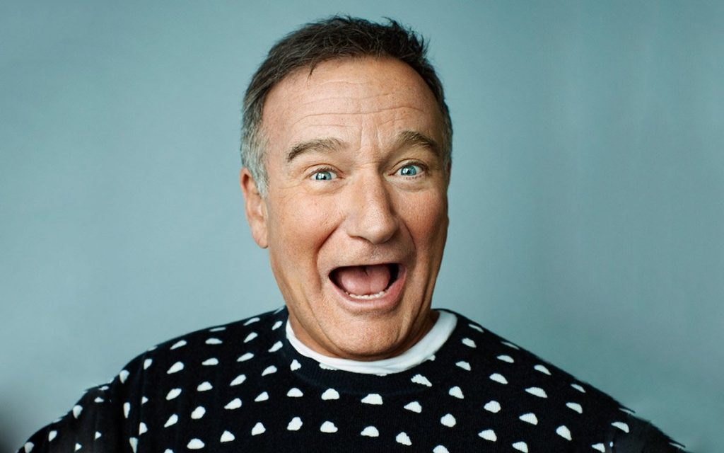 Robin Williams   7 Comedians With a History of Depression   Zestradar