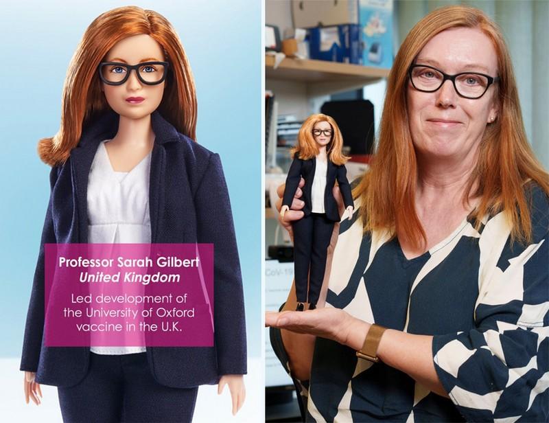 Professor Sarah Gilbert (UK) | Mattel Has Designed Barbie Dolls to Honor Covid-19 Frontline Workers | Zestradar