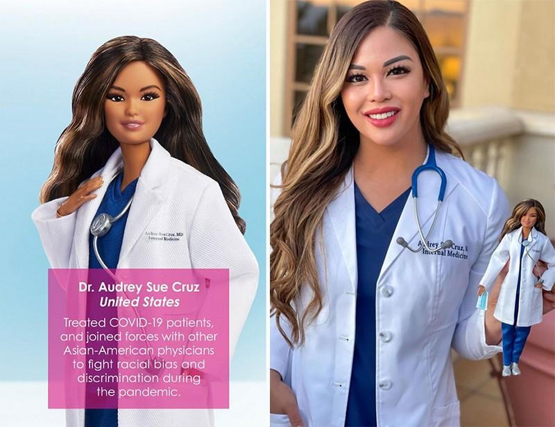 Audrey Cruz (US) | Mattel Has Designed Barbie Dolls to Honor Covid-19 Frontline Workers | Zestradar